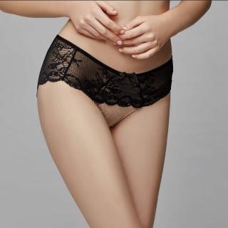 【La Felino 羅絲美】魚雁傳情低腰三角褲(裸膚)