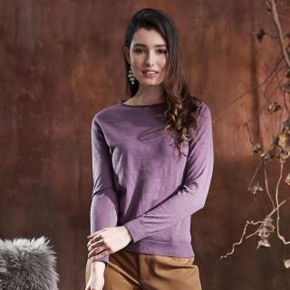 矜蘭妃-包纏肌密80支溫控絲羊絨衫組
