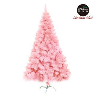 【摩達客】台製豪華型15尺/15呎 450cm 夢幻粉紅色聖誕樹 裸樹(不含飾品 不含燈)