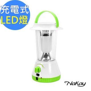 【NAKAY】全方位充電式16SMDLED露營燈 手電筒 NPL-11(無段調整)