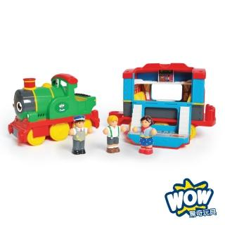 【英國驚奇玩具 WOW Toys】蒸汽火車 山姆