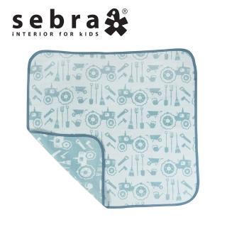 【sebra】快樂農場有機保暖毯(2色選擇)