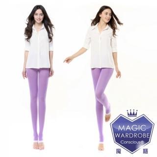 【MAGIC WARDROBE 魔莉絲】標準級360DEN西德棉睡眠褲襪一組兩雙(彈性壓力顯瘦腿襪)