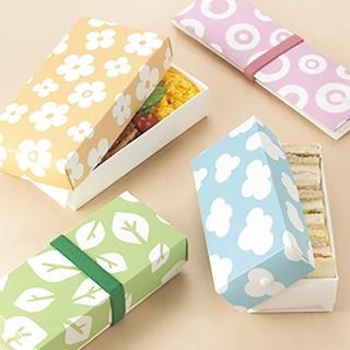 【日本HO.H.巧收便當盒】標準款(可摺疊、攤平、微波洗碗機都ok)