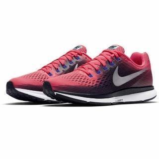 【NIKE 耐吉】AIRZOOM 女款慢跑鞋 多功能鞋 氣墊鞋 路跑鞋 耐磨透氣 輕量避震 B4@(0560604)