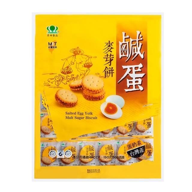 【昇田食品】鹹蛋麥芽餅(500g)
