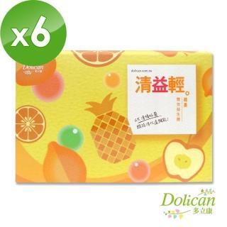 【多立康】清益輕蔬果雙酵益生菌(60包X6盒)