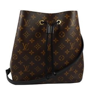 【Louis Vuitton 路易威登】M44020 Neonoe 經典花紋肩斜兩用水桶包(現貨)