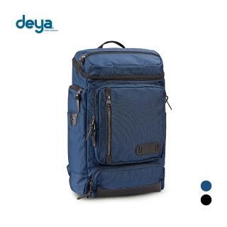 【deya】布里斯托機能後背包-黑色(頂級N66防彈尼龍)