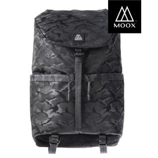 【MOOX 穆克斯】A6AB DELTA極簡雙層筆電後背包(迷彩黑)