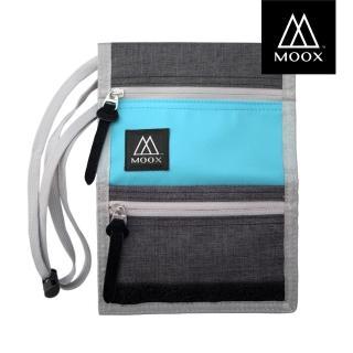 【MOOX 穆克斯】O9SB 輕量旅行收納包(湖水藍灰)
