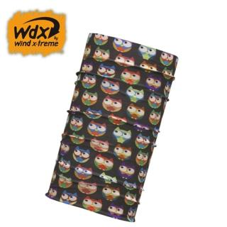 【Wind x-treme】兒童多功能頭巾 Wind baby 1064(保暖、透氣、圍領巾、西班牙)