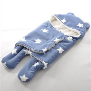 【JoyNa】保暖雙層羊羔絨嬰兒分腿式睡袋(共六款兩件入)