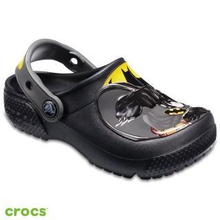 【Crocs】童鞋 趣味學院蝙蝠俠小克駱格(205020-001)