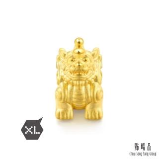 【點睛品】Charme XL 文化祝福 招財貔貅 黃金串珠