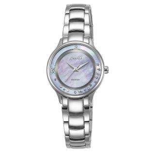 【LICORNE】力抗 永恆時光真鑽系列 天使光環璀璨手錶(藍紫/銀 LT125LWVW)