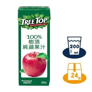 【Tree Top 樹頂】100%樹頂蘋果汁200ml*24入