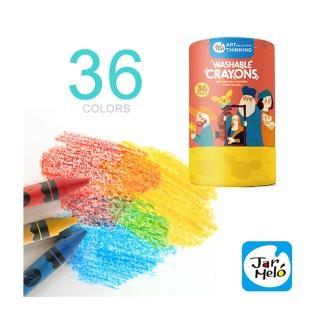 【西班牙 JoanMiro】可水洗蠟筆36色