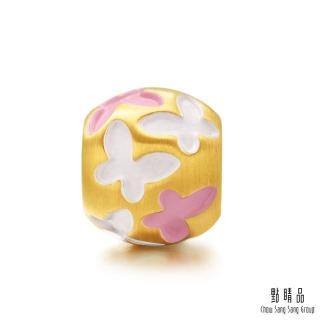 【點睛品】Charme 蝴蝶飛舞 黃金串珠