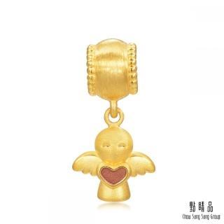 點睛品 Charme 守護天使 黃金串珠