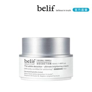 【belif】石楠花水光亮采精華霜 50ml(效期:2020/4)