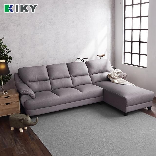 【KIKY】約翰-L型彈簧貓抓皮沙發組(左型/右型)