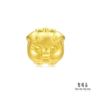 【點睛品】Charme 文化祝福 小豬撲滿 黃金串珠