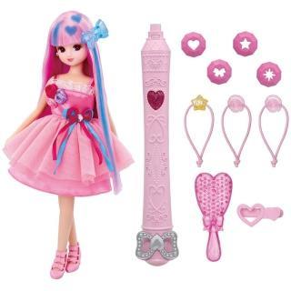 【TAKARA TOMY】莉卡娃娃 魔法變髮莉卡娃娃(女孩 洋娃娃 聖誕禮物)