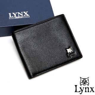 【Lynx】山貓極品爵士軟式牛皮5卡1照短夾