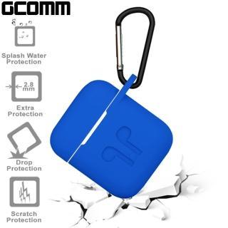 【GCOMM】Apple AirPods 藍芽耳機增厚保護套 皇室藍(GCOMM AirPods 保護套)