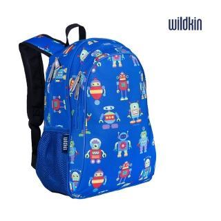 【Wildkin】兒童後背包/雙層式便利書包(14112機器人總動員)