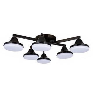 【華燈市】快可換 酷客 6燈半吸頂燈(Loft工業風)
