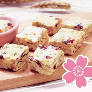 【惠香】法式雪花餅180g(添加香蔥與蔓越莓 鹹甜 鬆軟酥Q的口感)