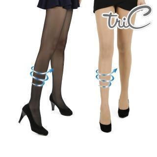 【Tric】80D 無暇美肌空氣感透膚襪(黑/膚)
