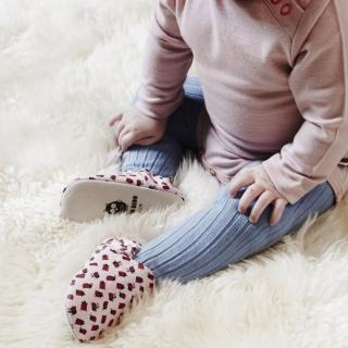 【POCONIDO】英國手工嬰兒鞋(粉紅小瓢蟲)