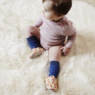 【POCONIDO】英國手工嬰兒鞋(清涼西瓜)