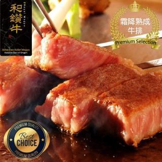 【漢克嚴選】美國產日本級和牛厚切霜降熟成牛排10片組(300g±10%/片)