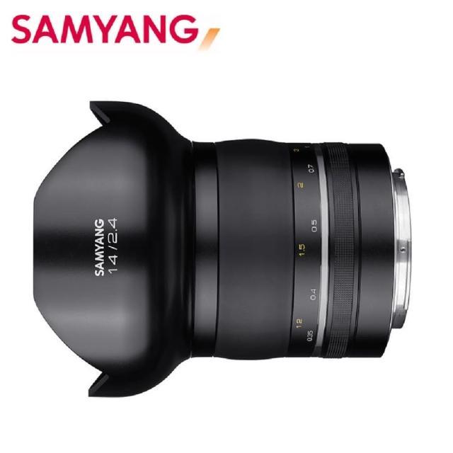 【韓國SAMYANG】XP Premium 14mm F2.4 廣角手動鏡頭(公司貨 NIKON AE)