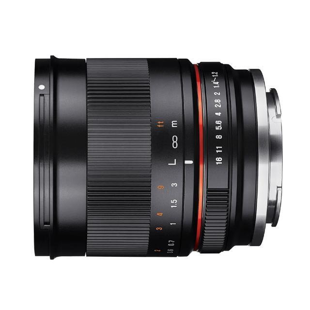 【韓國SAMYANG】35mm F1.2 ED AS UMC CS 微單眼手動鏡頭(公司貨 CANON EOS M接環)