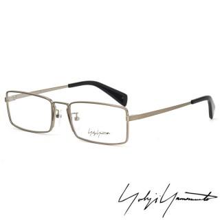 【Y-3山本耀司】Yohji Yamamoto 時尚前衛方框光學眼鏡(銀-YY3003-914 12HR)