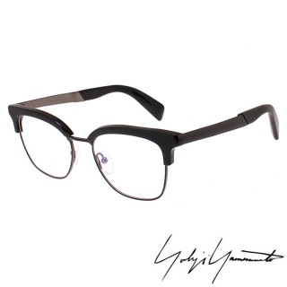 【Y-3山本耀司】Yohji Yamamoto山本耀司立體方框造型光學眼鏡(黑-YY3011-002 12HR)