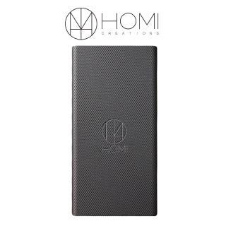【HOMI】FiberDock 碳纖維紋無線充電板-鐵灰(QI/NCC雙認證)