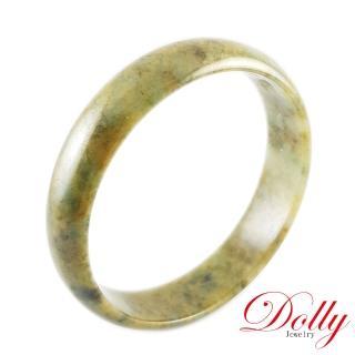 【DOLLY】老玉灑金A貨翡翠玉鐲-044(手圍20)