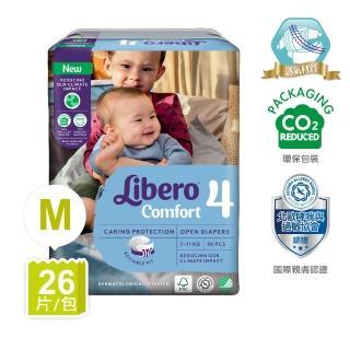 【麗貝樂】嬰兒紙尿褲4號(M 26片)