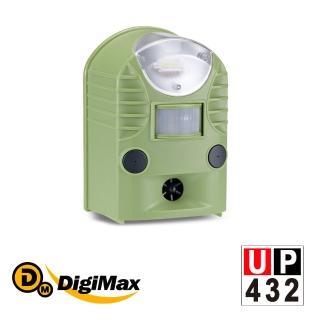 【Digimax】UP-432 『地震魚』多功能地震警報器(地震黃金時間警報)