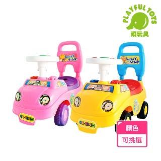 【Playful Toys 頑玩具】音樂童車(滑步車 學步車)