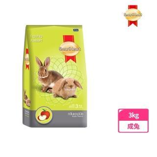 【SmartHeart 慧心】寶貝兔子飼料 - 蘋果口味(3kg)