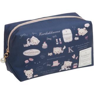 【San-X】懶妹與長毛貓系列防水化妝包