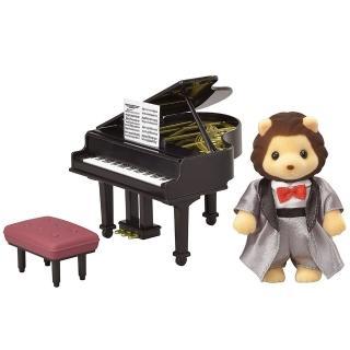 【森林家族】TOWN鋼琴演奏獅子(Sylvanian Family)