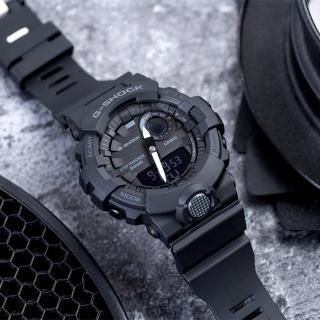 【CASIO 卡西歐】G-SHOCK 智慧型手機藍芽連線運動錶(GBA-800-1ADR)